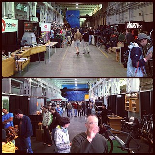 Time to go, now only if Angel would let me stay. - Oregon Handmade Bike Show #OHBS #OHBS2012 | by amckimmey