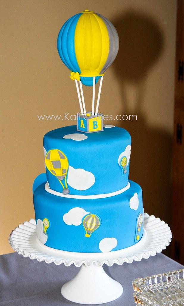 Air Balloon Cake Topper