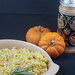Pumpkin Spaetzle with Leeks