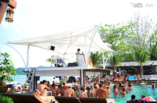 Ark Bar Chaweng Beach New Years