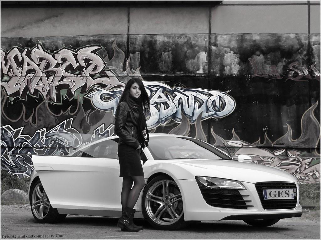 Girl Amp Audi R8 Grand Est Supercars Com G E Supercars