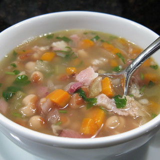 White Bean and Ham Soup | by katbaro