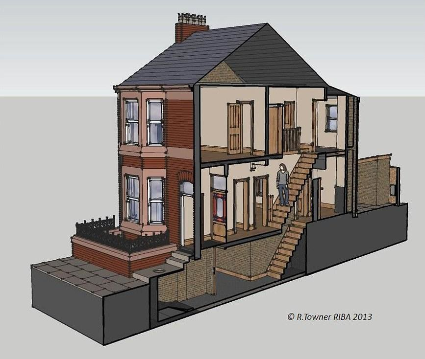 Victorian Terraced House Liverpool This Is My Cross
