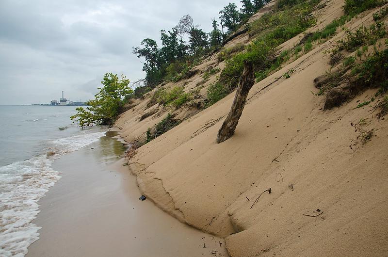Vanishing Dunes
