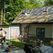 Plastering Prepwork Behind Strawbale Cottage