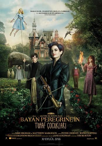 Bayan Peregrine'in Tuhaf Çocukları - Miss Peregrine's Home for Peculiar Children (2016)