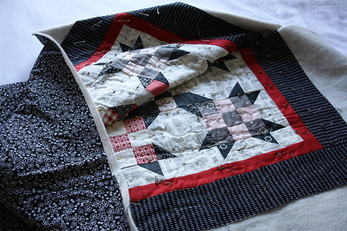 9 Patch - Basted and ready to quilt | by _reddeer_