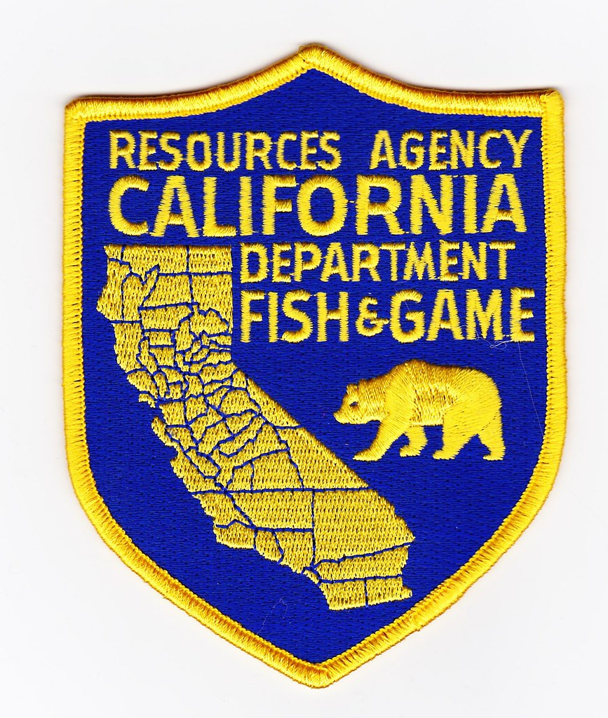 Ca california department of fish and game fish and game for Ca dept of fish and game