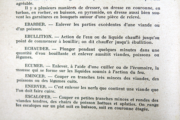 culinary terms | The French Dictionary | David Lebovitz | Flickr