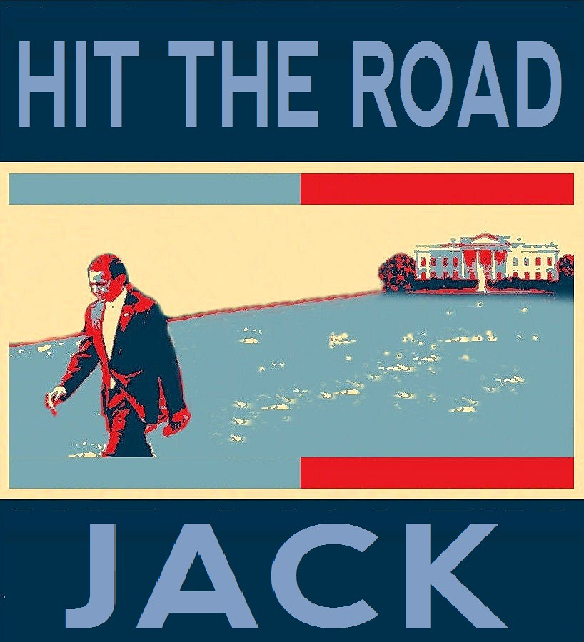 Image result for HIT THE ROAD OBAMA