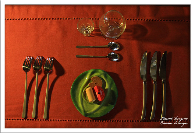 Dressage de table flickr photo sharing for Dressage table couverts
