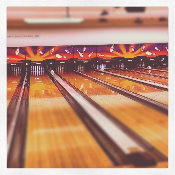 Bowling Alley With Private Party Room