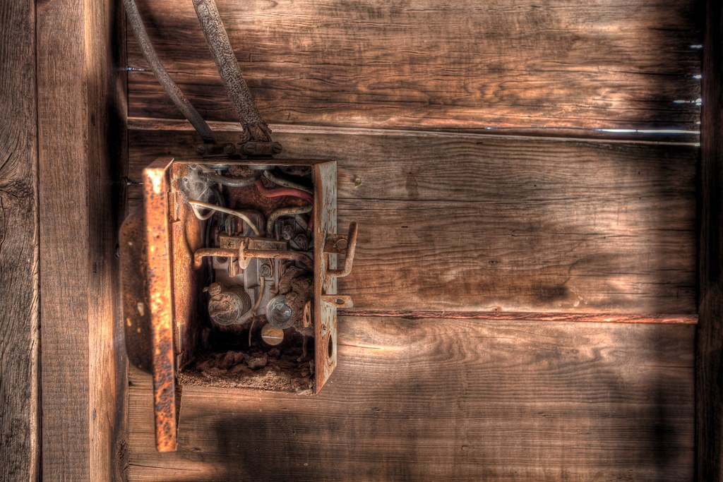 old fuse box the barn this resides in was built in the 30 fuse box switch barn fuse box #13