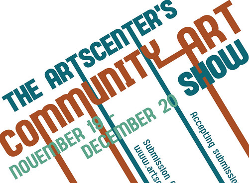 community-art-show-graphic | by artscenterlive