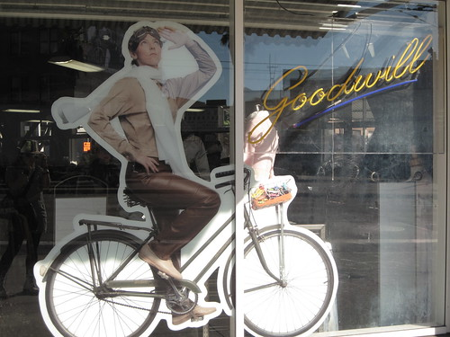 Goodwill's bike-oween windows | by meligrosa