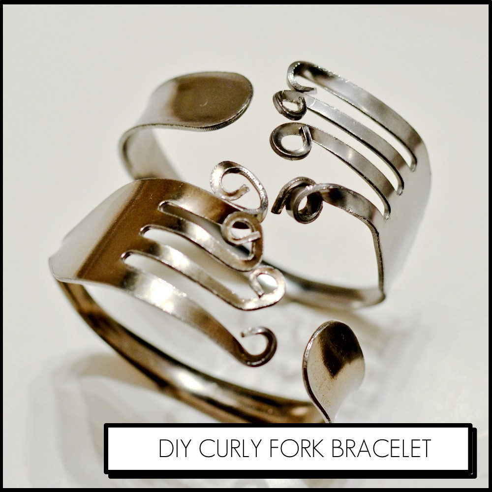 How to make a curly fork bracelet see how to make a fork for Ice fine jewelry bend oregon