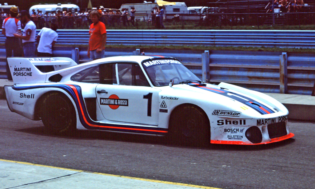 Martini Porsche 935 Driven By Jacky Ickx And Jochen Mass