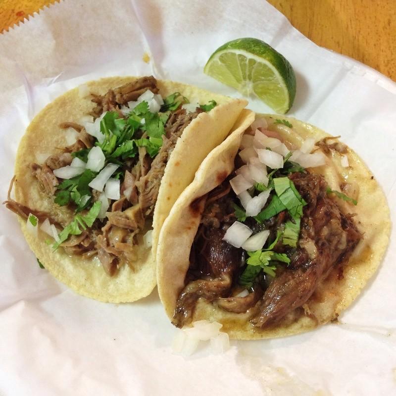 Mexican Tacos @ El Charro Mexican Restaurant