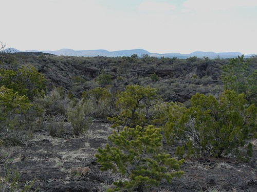 chain of craters at a distance | by jb10okie