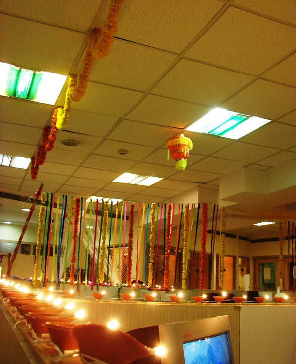Diwali office decoration ideas diwali office decoration for Office decoration photos