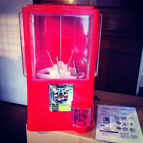Rampage Studio's Gachapon Machine has arrived!!! | by rampage.toys