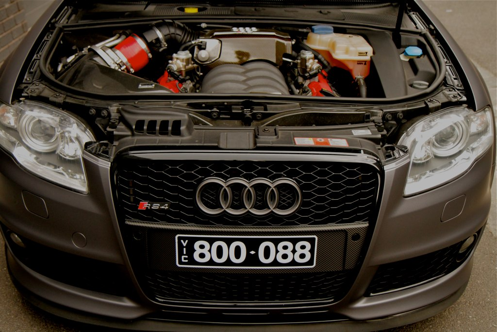 Audi Rs4 B7 Under The Hood Audi Rs4 B7 Check Out