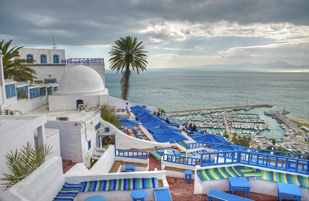 Sidi bou said tunis usaid flickr for Salon 9 places tunisie
