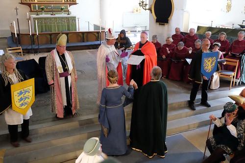 1302 års kröningsceremoni