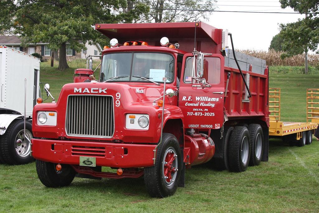 R Model Mack Dump Truck
