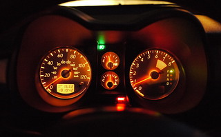 keithmobile instrument cluster at night | by Keithius