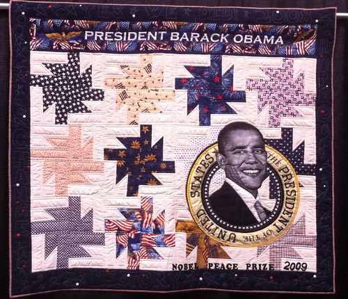 Obama's Star~2011~ Quilt by Allyson Allen | by Pam from Calif