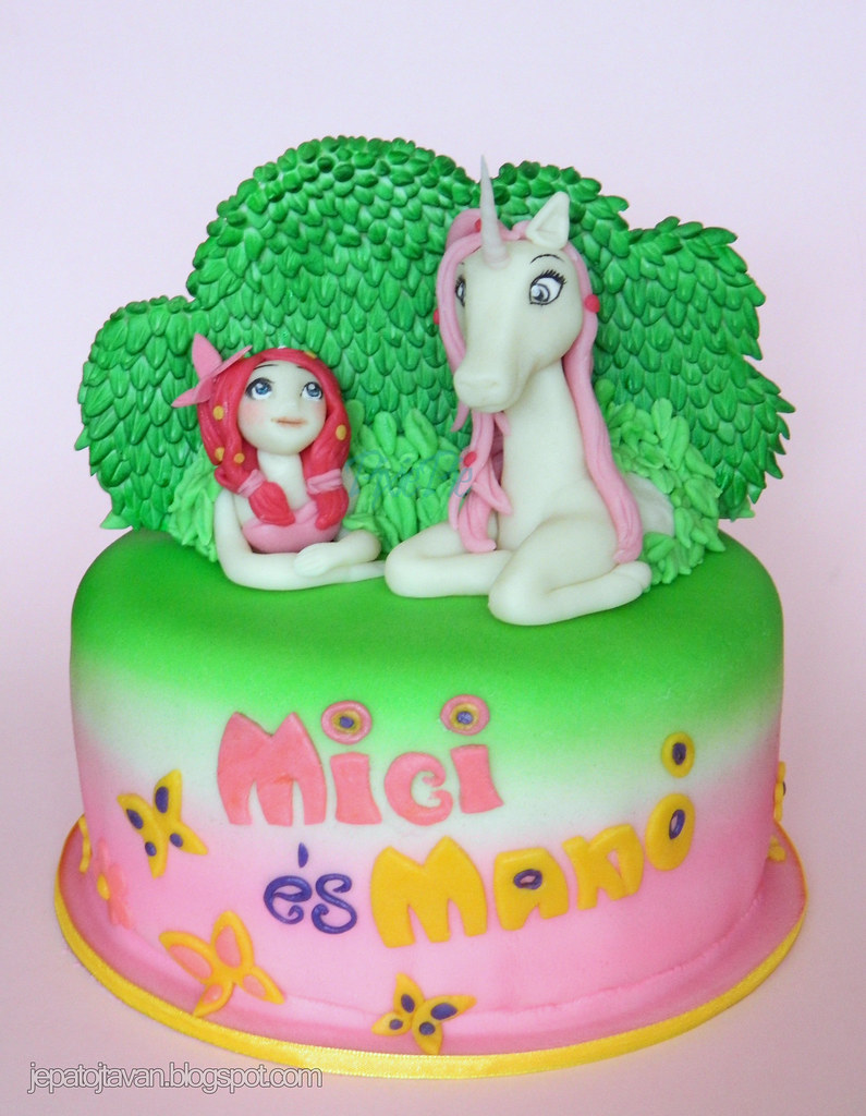 Mia and me cake Pixie Pie Flickr