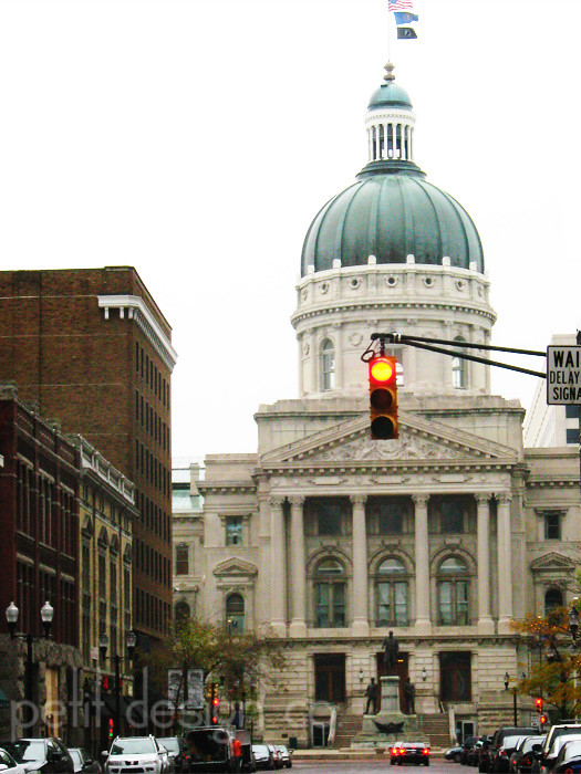 Indianapolis Capitol Building Beautiful Architecture At