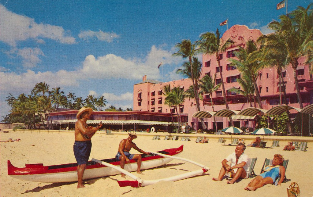 Royal Hawaiian Hotel - Honolulu, Hawaii
