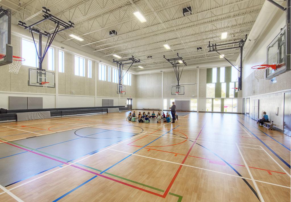 Douglas Park Elementary School, Regina, SK. | Gymnasium