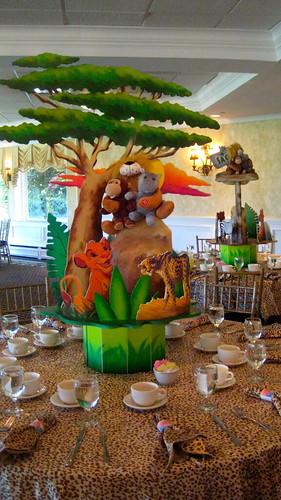 Lion King First Birthday Centerpiece Www Theshowplaceny