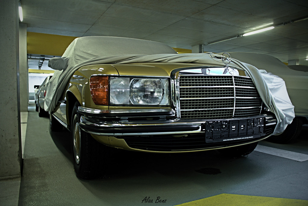 Mercedes benz 450sel w116 the first photo from the for Garage agree mercedes