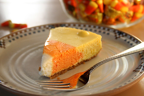 candy corn cheesecake 9 | by crumblycookie