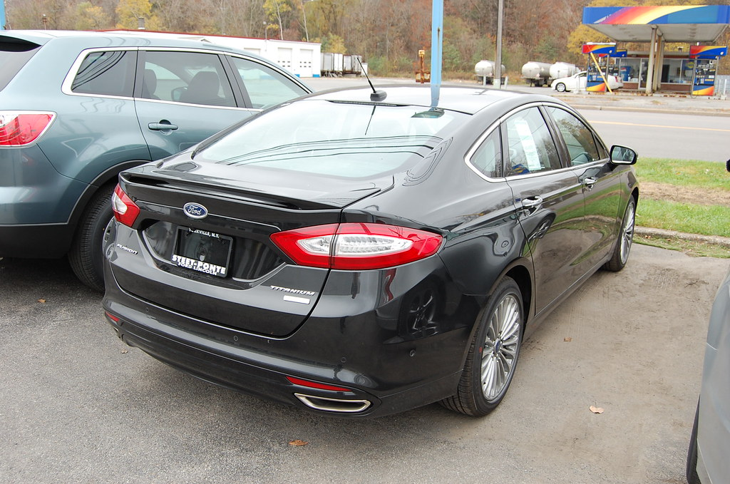2013 ford fusion titanium black at steets 23 by vollweilert - 2013 Ford Fusion Titanium