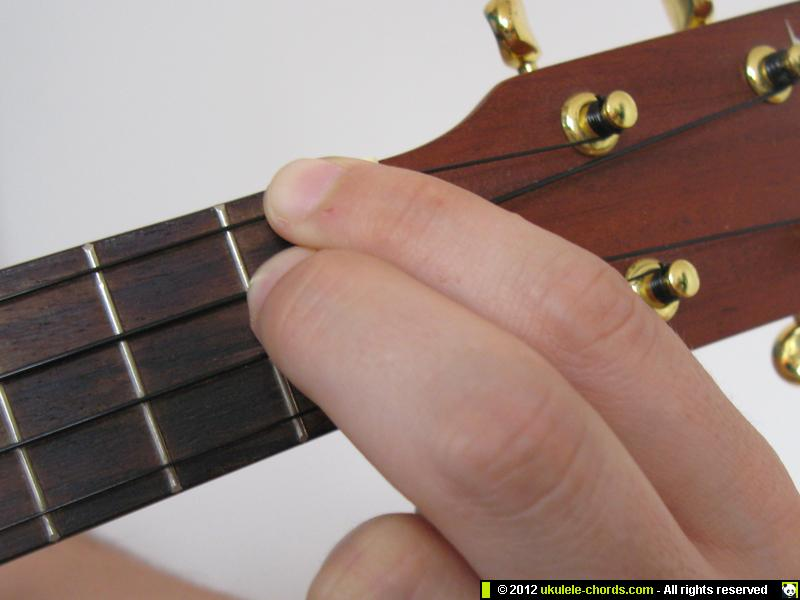 Dbm Ukulele Chord How To Play A Dbm On The Soprano For Al Flickr
