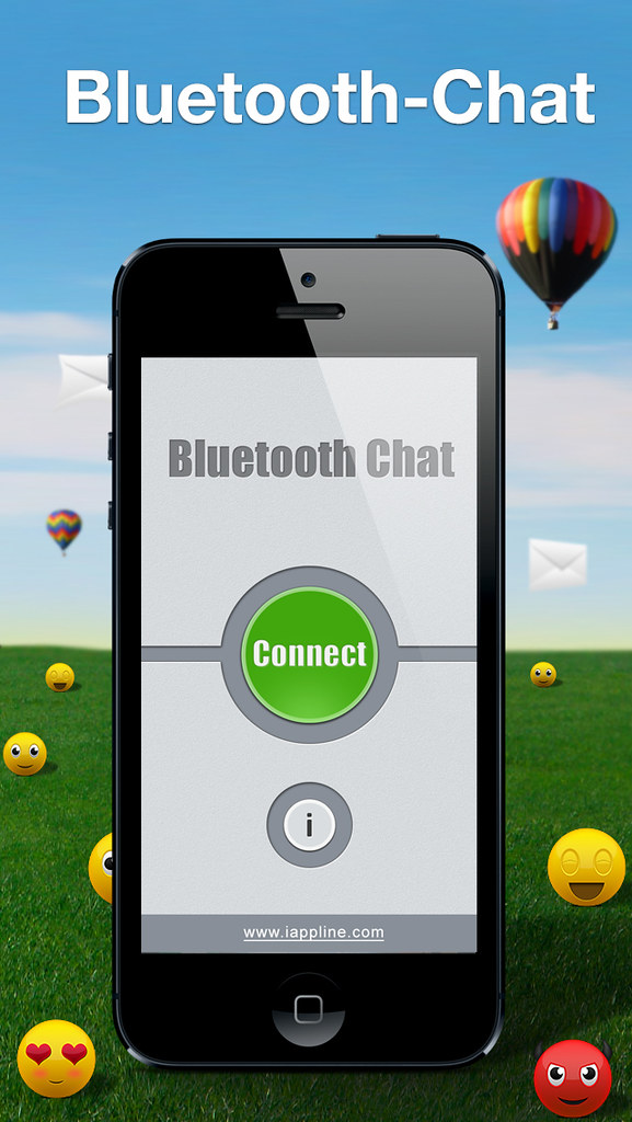 Bluetooth-Chat - https://itunes apple com/us/app/bluetooth