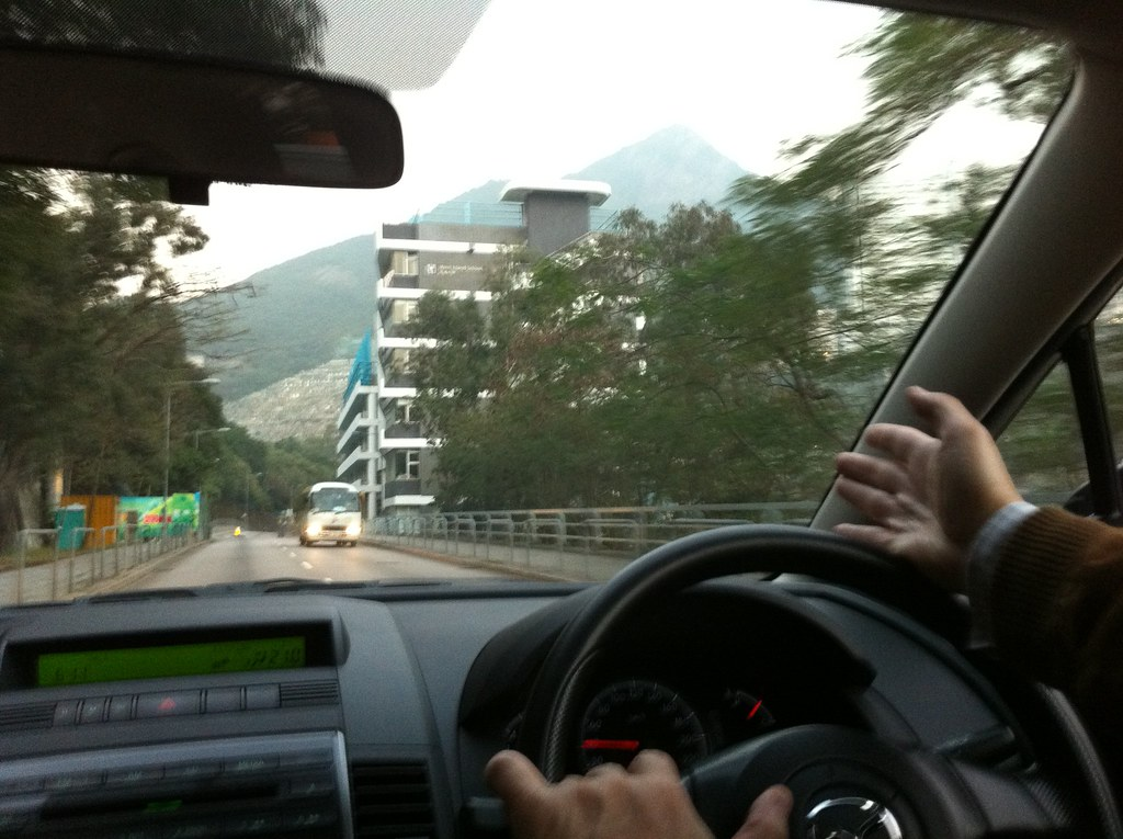28th of January - Driving past West Island School! (My old ...