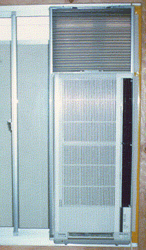 Japanese vertical air conditioner a design for the for Vertical sliding window design