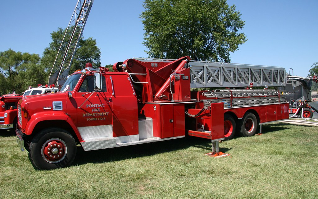 Gmc Fire Truck Gmc Sutphen Tower 2 Fire Truck At The