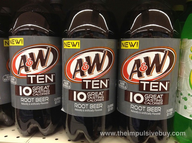 A W Root Beer Glass Bottles