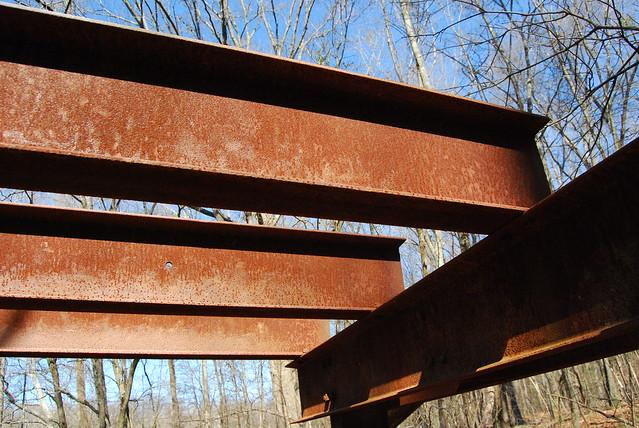 Settles Bridge (4 of 26) steel beams