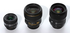 three 35mm lenses for Nikon 63826