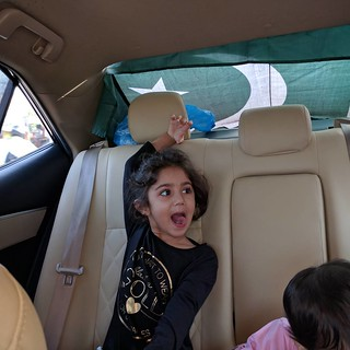 Excited kids enroute NathiaGali #Shogran2016 #18August2016 #18August | by asim.zeeshan