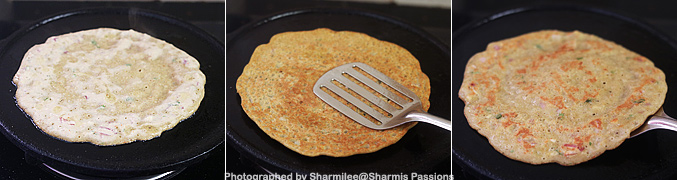 How to make Chola Adai Recipe - Step4