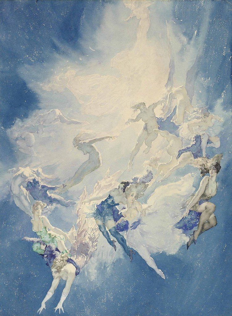 Norman Lindsay - A Star Explodes, 1932